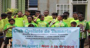 Oui au sport! Non à la drogue! Club Cycliste de Tamarin 2020-2021