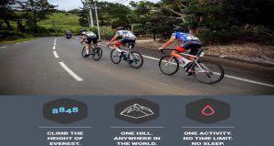 Everesting Chamarel pour les écoles de vélo à Maurice