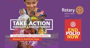 Rotary End Polio Now