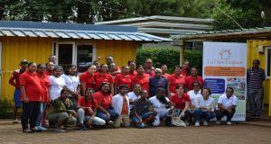 Expansion and diversification of a BIO community garden and farm at La Caze Lespwar, Caritas Solitude.