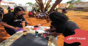 25th Oct 2020 - Nature is Art Event - Bambous Virieux - Underprivileged Children