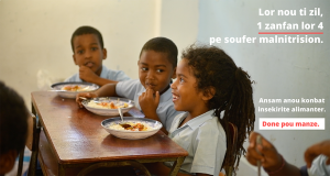 Help feed our children | FoodWise Mauritius
