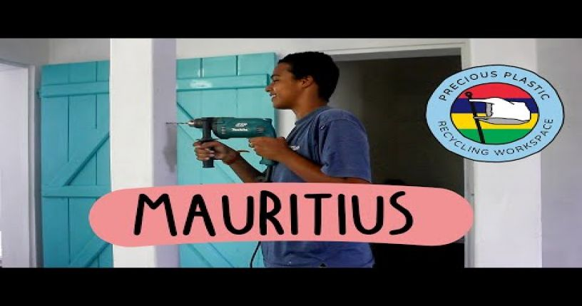 Precious Plastic build in Mauritius
